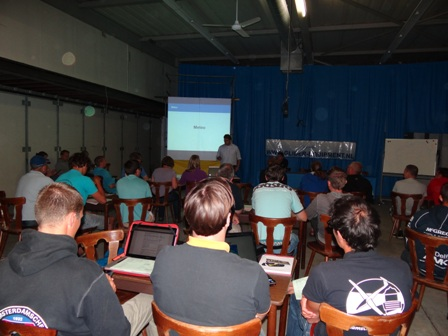 news: Briefing Patrick Hoeve 8-8-2012.JPG